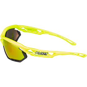Rudy Project Fotonyk Brille yellow fluo gloss - rp optics multilaser orange